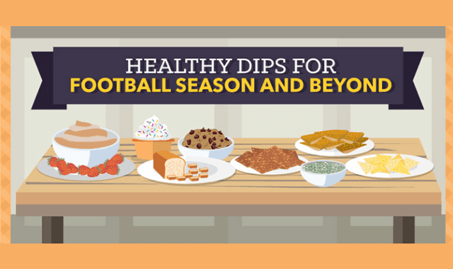 Healthy Dips for Football Season and Beyond