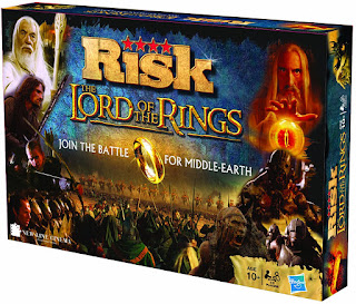 Risk Lord Of The Rings board game