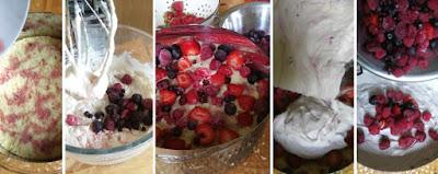 Zubereitung Beeren-Quark-Torte