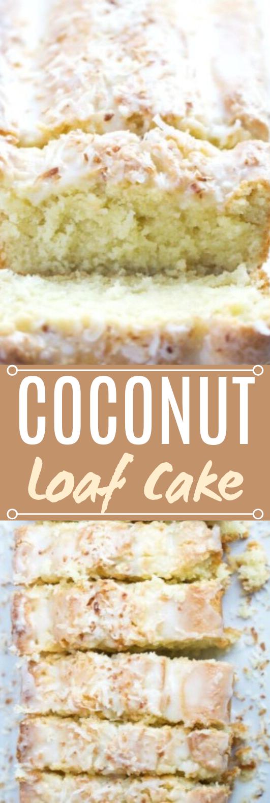 Coconut Loaf Cake #desserts #cake