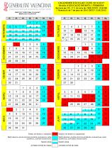 Calendario Escolar 2020 2020 Comunidad Valenciana.Seccion Sindical Csi F Del Ayuntamiento De San Vicente Del Raspeig