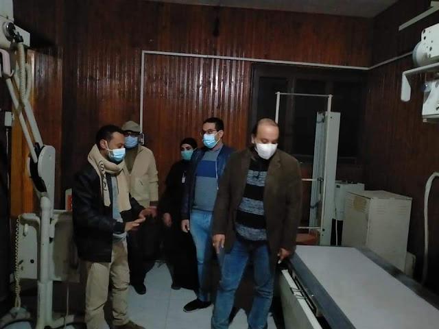 فريق إشراف المديرية يجري زيارة مفاجئة ليلا لمستشفي دشنا