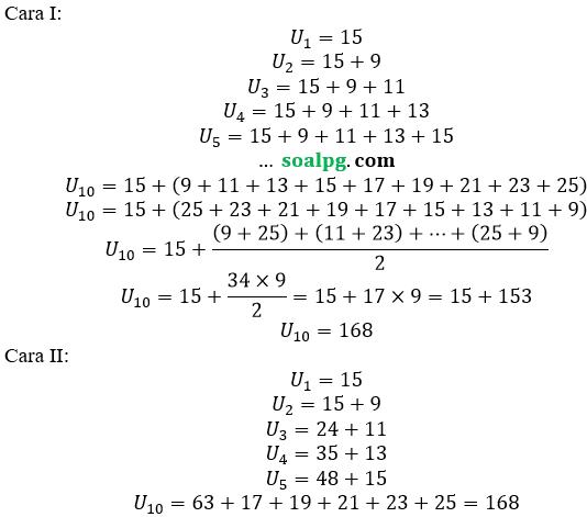 jawab soal un smp matematika 2017