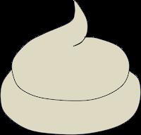 Weißer / heller Kot