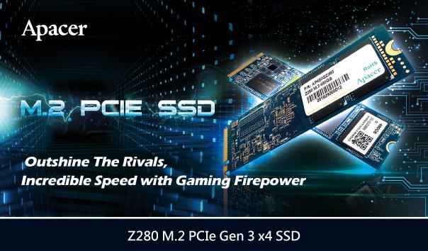 Apacer Z280 M.2 PCIe Gen 3 x4 SSD