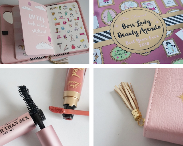 Review Coffret Boss Lady Too Faced