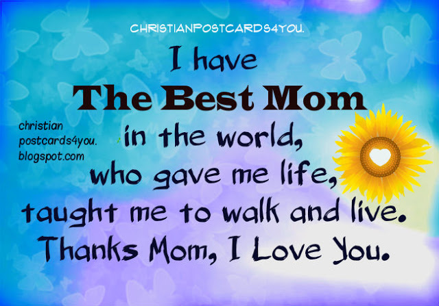 the best mom you are, image, wishes and quotes to my mom happy mothers day