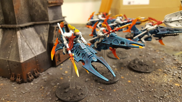 aeldar eldar shining spear conversion reaver jet bike exarch corsair
