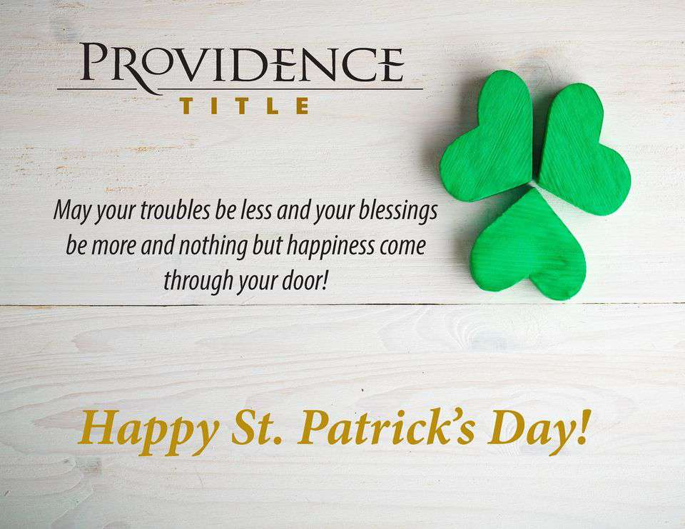 St. Patrick's Day Wishes Unique Image
