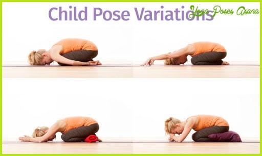 تمرين Child's Pose