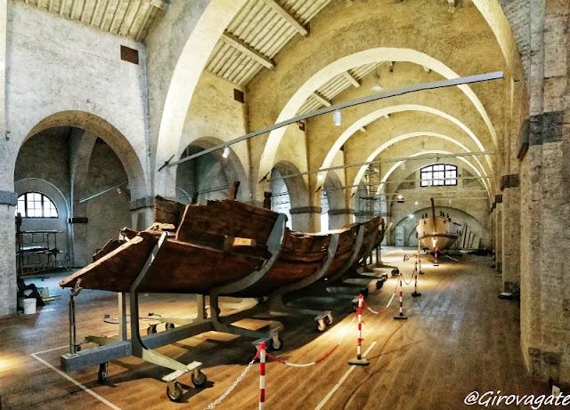 Pisa Museo navi antiche