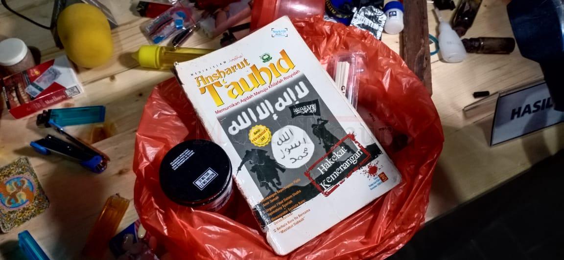 Operasi Lapas Sasaran Handak dan Narkoba Hanya Temukan Buku Karya Ba'asyir