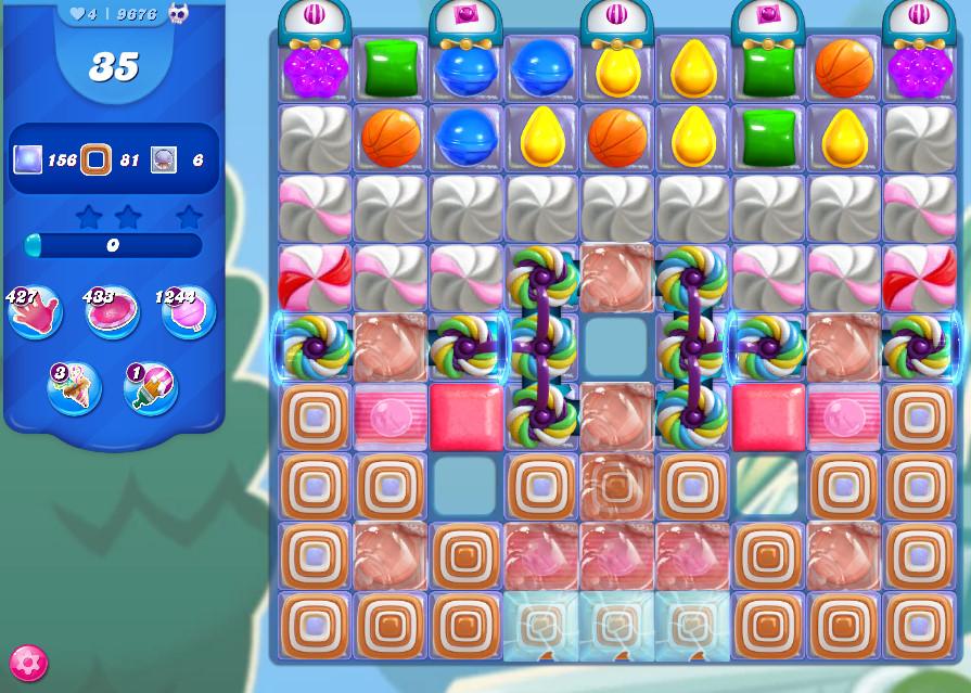 Candy Crush Saga level 9676