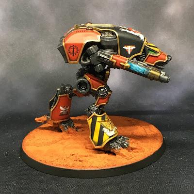 Legio Ignatum Warhound Titan for Adeptus Titanicus