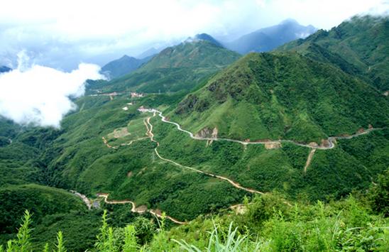 Cảnh đẹp: Đèo Ô Quy Hồ - Sa Pa, Lào Cai (Khu du lịch)
