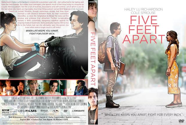 Five Feet Apart DVD Cover