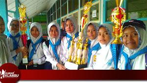 MTs YPI Klambu Raih Juara Umum Ajang Olimpiade PMR MADYA Se-Kabupaten Grobogan