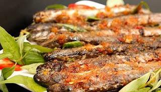 Món ăn ngon: cá Kèo nướng muối ớt