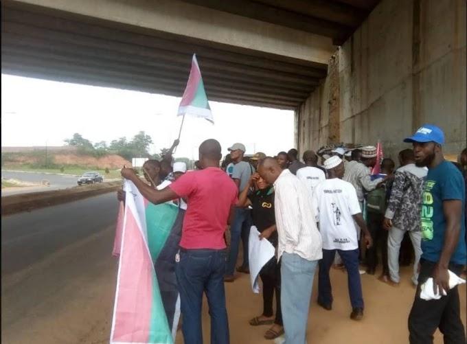 Heavy Security Presence As Operatives Shut Down Venue Of Yoruba Nation Mega Rally In Osogbo