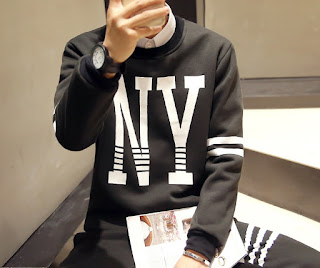 Sweater Pria Model Korea Terbaru Mei 2016