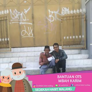 Mbah Karim : Bantuan OTS