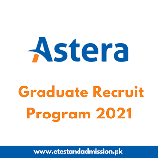 Astera Graduate Recruit Program 2021