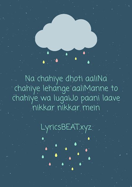 nikkar nikkar song Lyrics sapna choudhary lyrics- by- LyricsBEAT