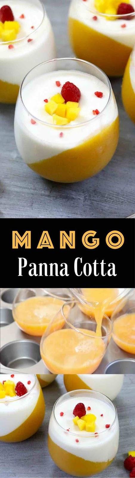 The Best Mango Panna Cotta