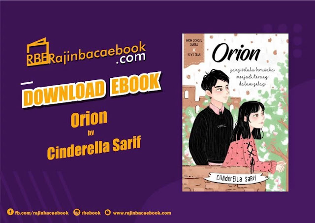 Download Novel Orion by Cinderella Sarif Pdf