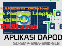 Download Dapodik Versi 2020 ( Link Donwnload alternatif ,Panduan Lengkap dan Download Prefill )