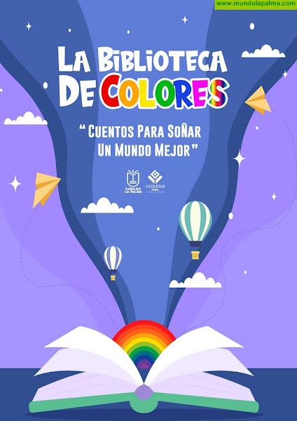 La Biblioteca de Colores apuesta por educar en la diversidad a niñas y niños de La Palma