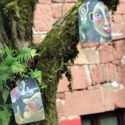 Detail local artisan shop.