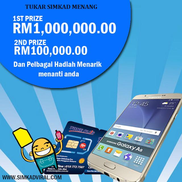 Bagaimana buat duit RM1 Juta dengan toneplus prepaid