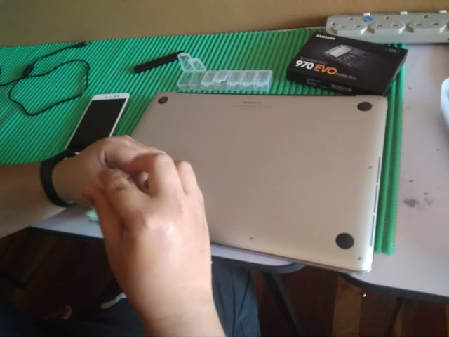 SOLVED : MACBOOK PRO 15 INCI MODEL a1398 2015 UPGRADE SSD 1TB SAMSUNG EVO 970 | OKCS PULAU PINANG
