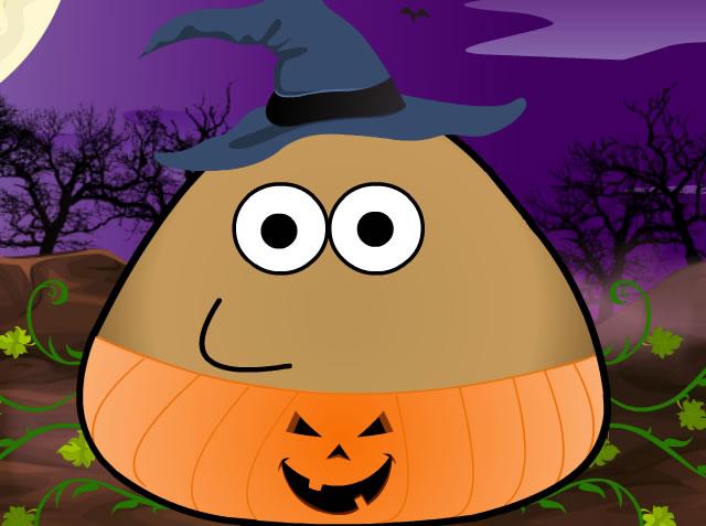 Vestir Pou para Halloween