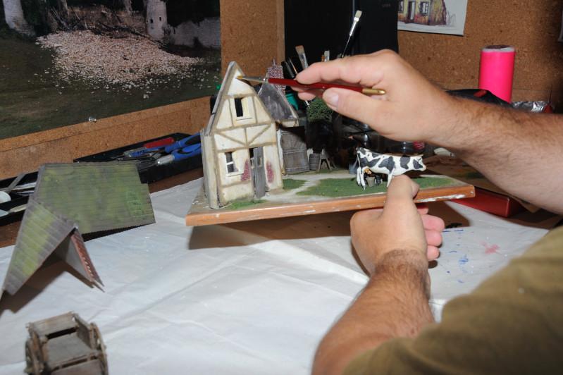 histoire en photos de maquettes et dioramas 1 35 me conception d un diorama. Black Bedroom Furniture Sets. Home Design Ideas