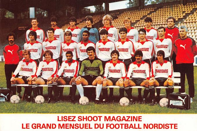LILLE O.S.C 1982-83.