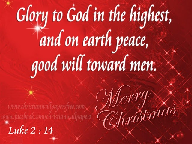 Christmas Bible Verse Greeting