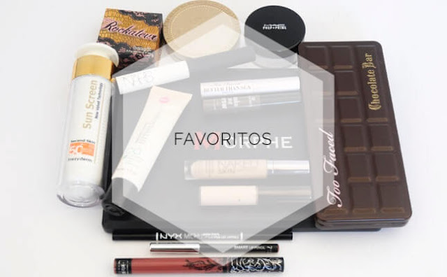 Productos favoritos maquillaje