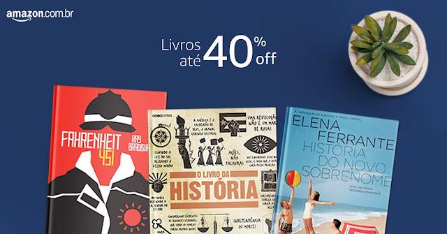 Editora Globo: + de 100 livros em até 40% off