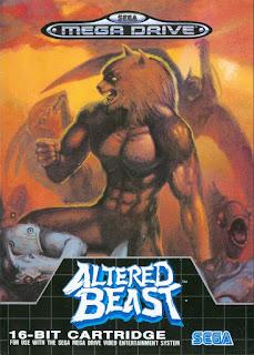 Retrogame online gratis Altered Beast Genesis