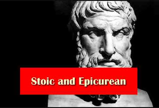 Stoic and Epicurean