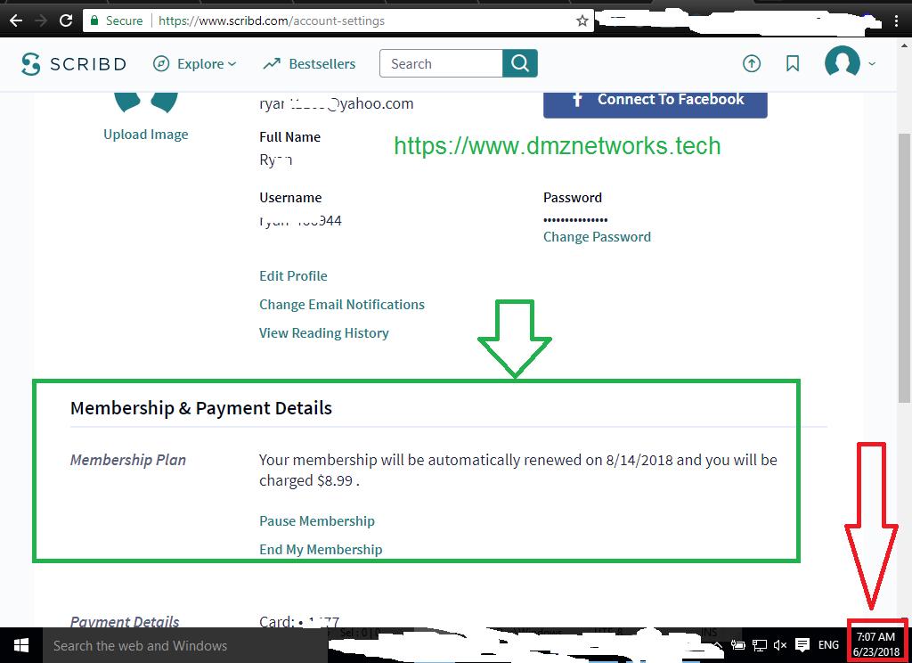 Scribd Premium Account 2018 [100% Working with Proof] - DMZ