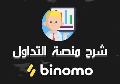 شرك كامل و مفصل لمنصة التداول بينومو شرح Binomo و كيفية التداول داخل موقع بينومو شرح Binomo، شرح بالصور