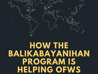 How The Balikabayanihan Program Is Helping Returning OFWs