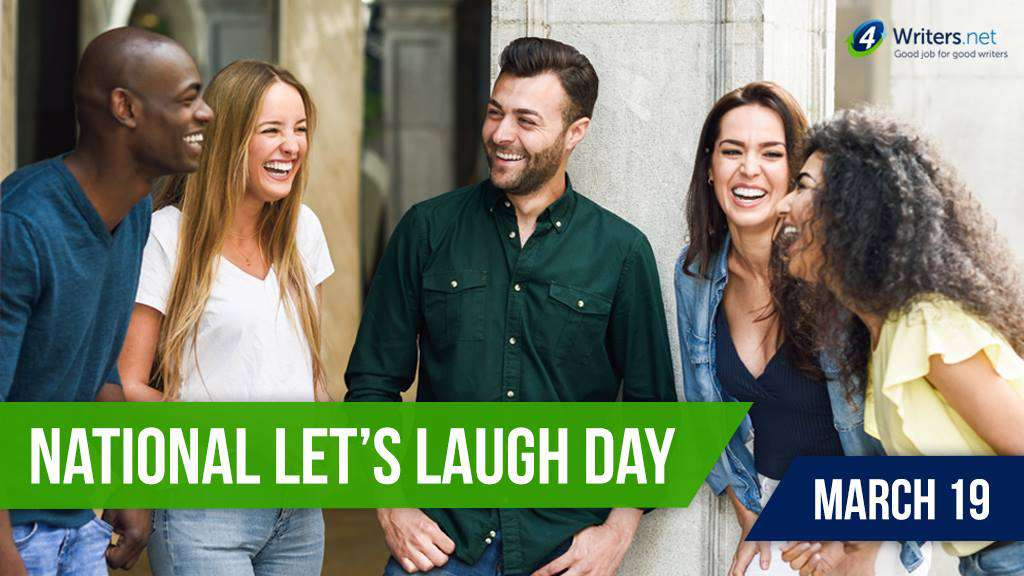 National Let's Laugh Day Wishes Pics
