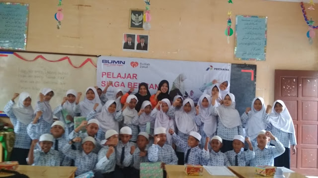 Rumah Zakat Ajak Pelajar Siaga Bencana Gempa Tsunami