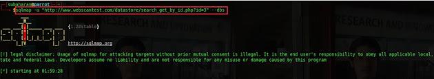 Database Name Disclosure