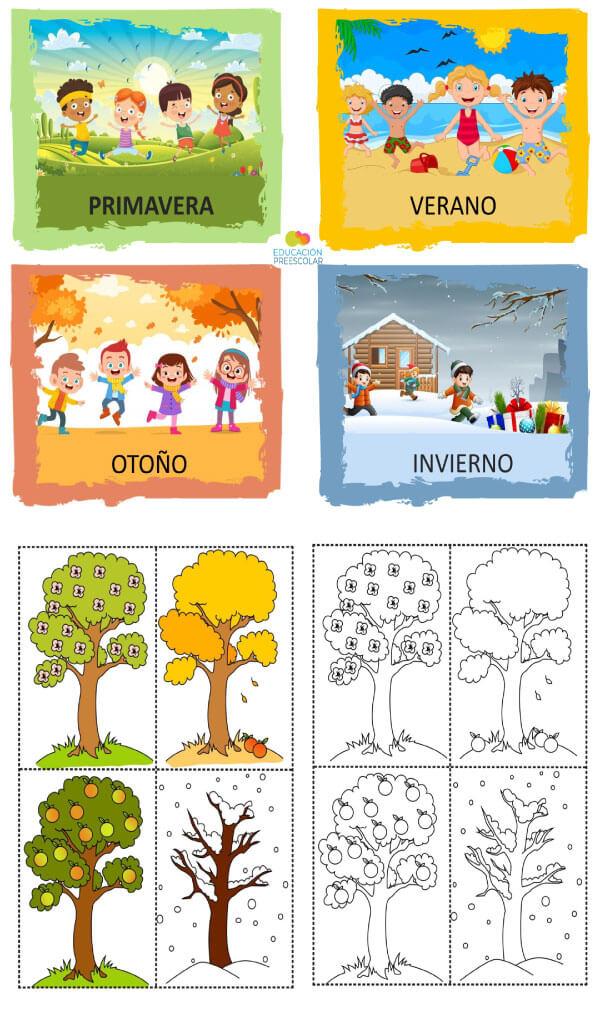 material-trabajar-climas-estaciones-preescolar