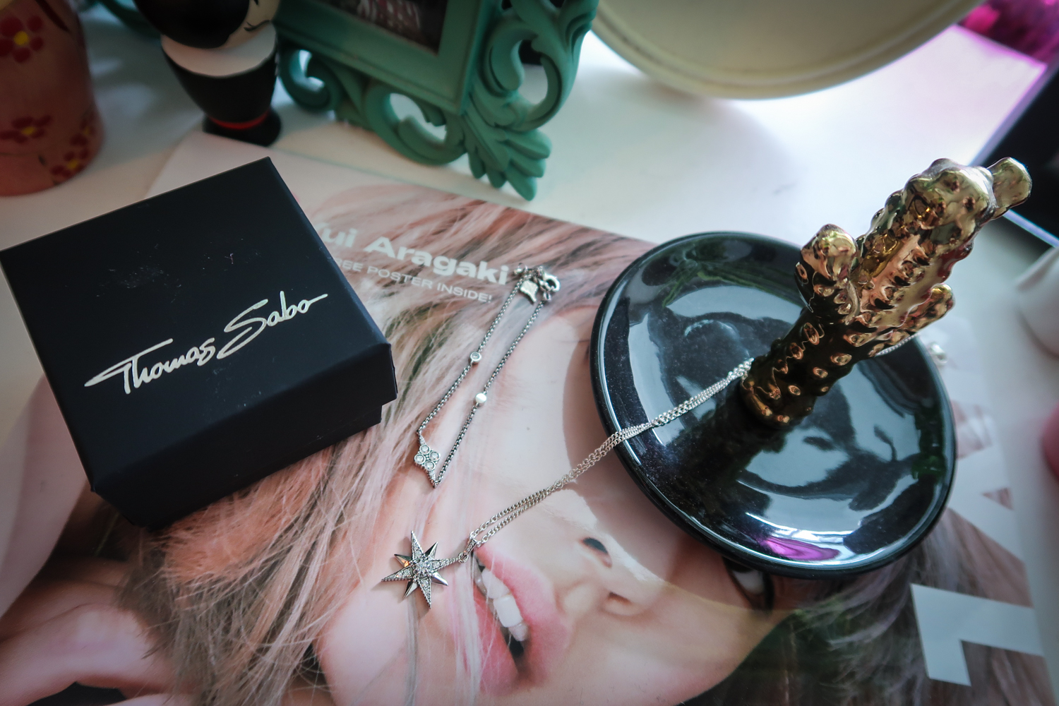 Alternative Fashion Blogger Foxxtailz styles Thomas Sabo jewellery